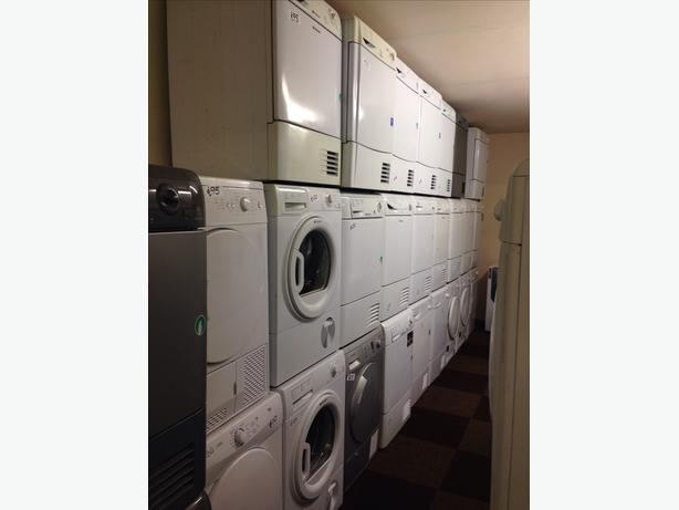 HUNDREDS OF VENTED AND CONDENSER DRYERS AVAILABLE
