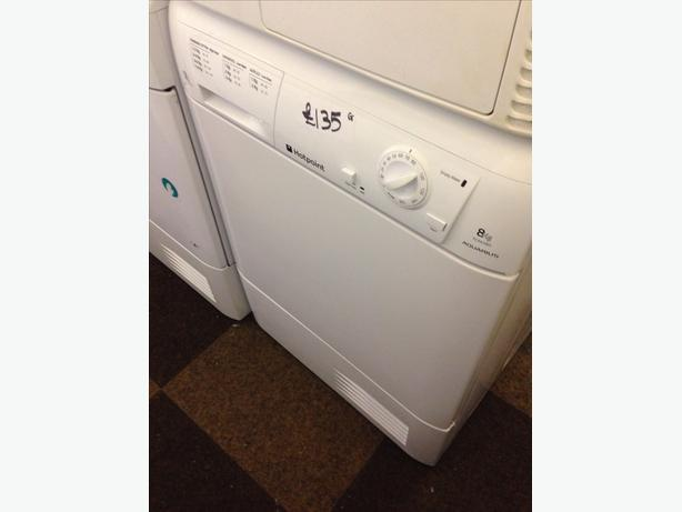 GRADED HOTPOINT DRYER CONDENSER0