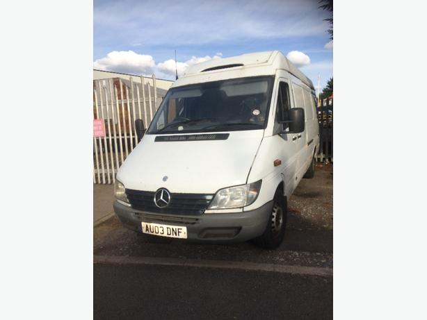mercedes lwb fridge van