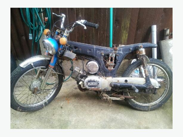old rusty motor bikes wonted