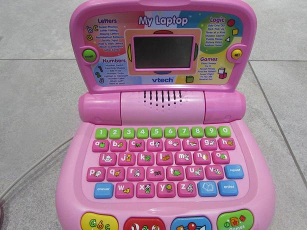 Vtech Pink Laptop childs toy computer