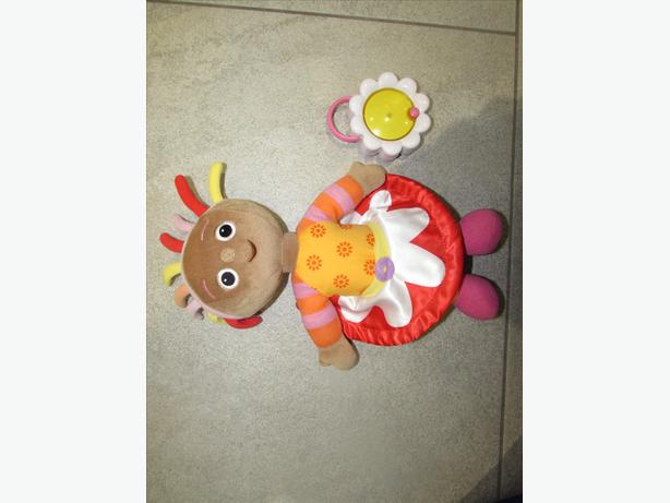"HASBRO IN THE NIGHT GARDEN GOOD NIGHT FRIEND UPSY DAISY 12"" PLUSH TOY WITH LAMP!"