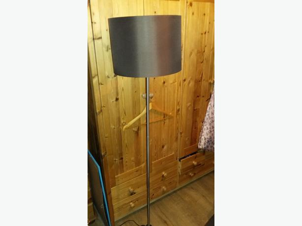 ARGOS Brown Lamp Colour Match Tall