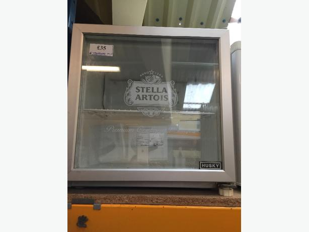 stella fridge glass door
