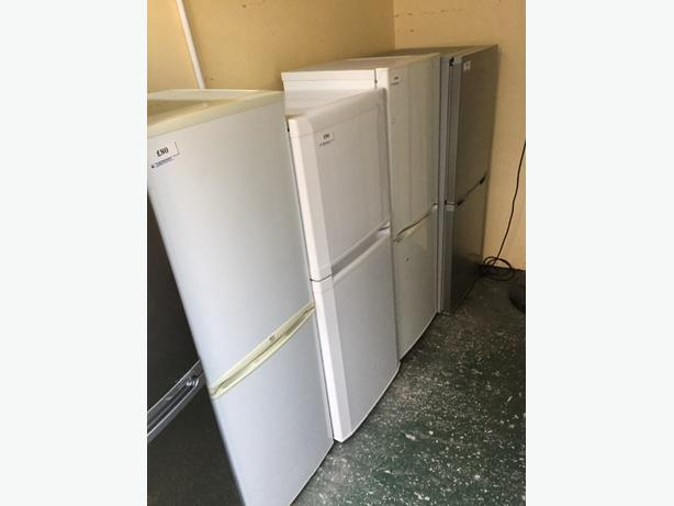 mid size fridge freezers all working and clean