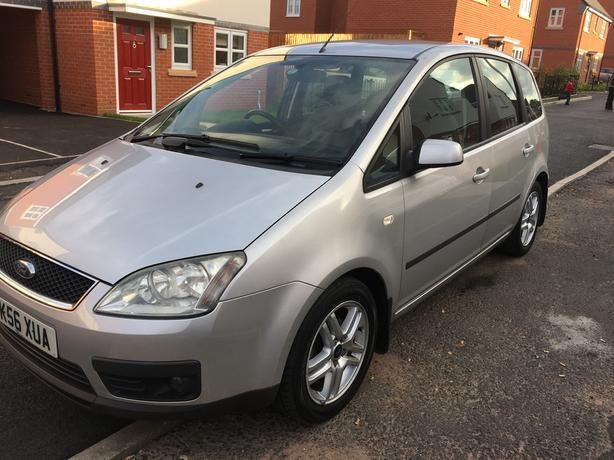 ford focus c max zetec 1 8 56 plate 2006 12 months mot immaculate walsall sandwell. Black Bedroom Furniture Sets. Home Design Ideas
