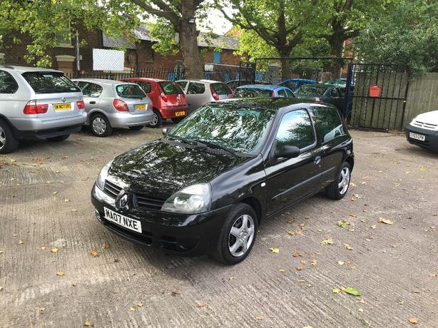 Renault Clio 1.1 Campus 8v 2007 only 55,000 miles long MOT