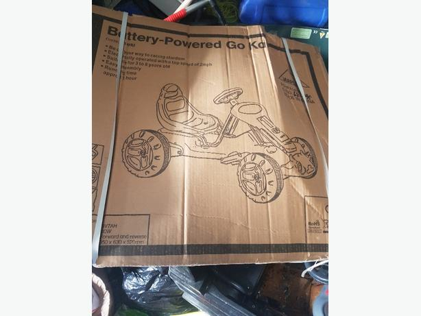 go kart for sale brand new in box never been used