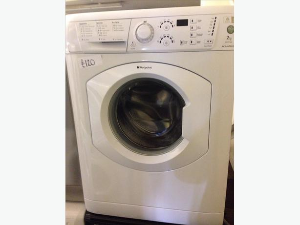 HOTPOINT 7KG WASHING MACHINE002
