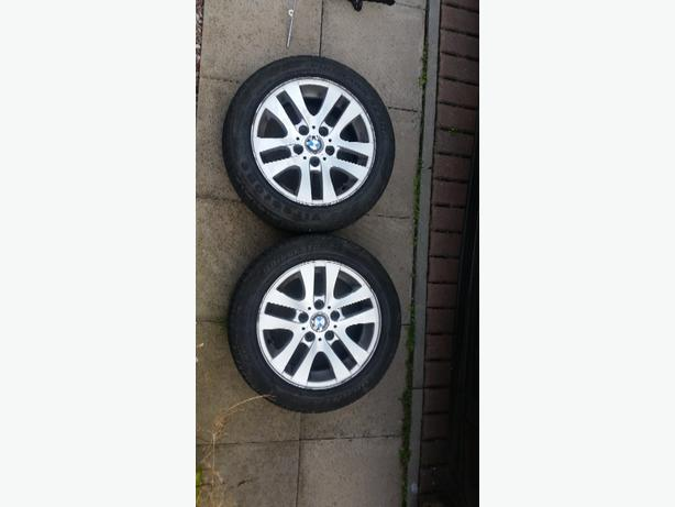 bmw alloy wheels x 4
