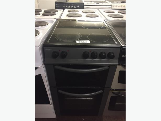 LOVELY CHARCOAL ELECTRIC COOKER WITH GUARANTEE 50 CM WIDE