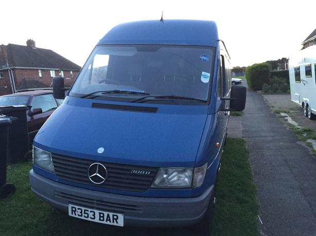 Mercedes Sprinter LWB van great condition for age.