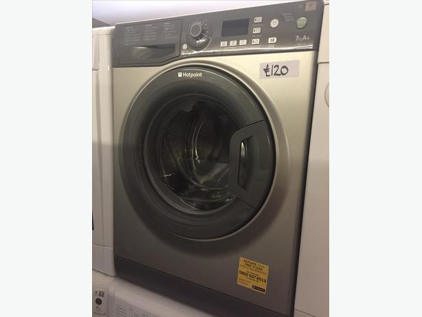 GRAPHITE HOTPOINT 7 KG WASHING MACHINE IN GREAT CONDITION