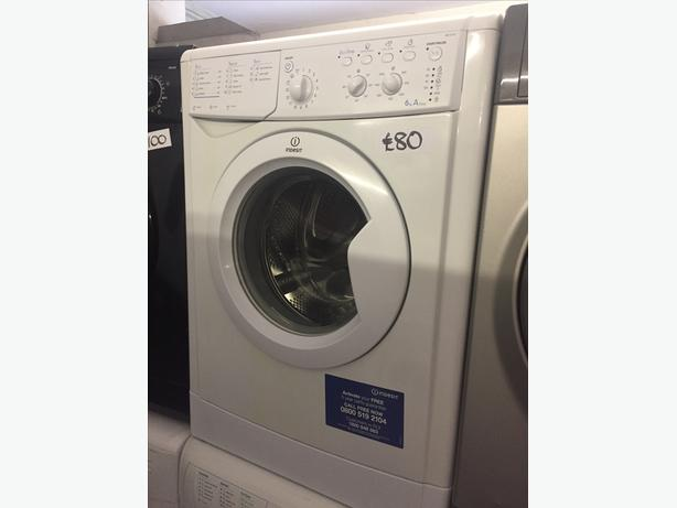 INDESIT WASHING MACHINE-6KG/1000 SPIN WITH GUARANTEE