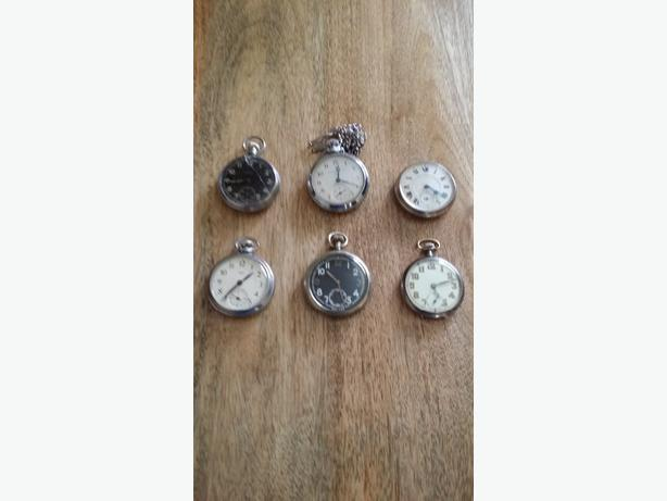 WANTED:  pocket watches