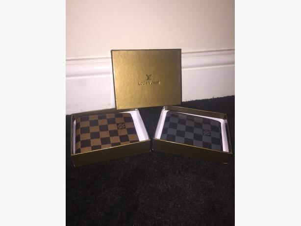 Mens LV Wallet - Grey/Brown - Louis Vuitton - Designer - Quality