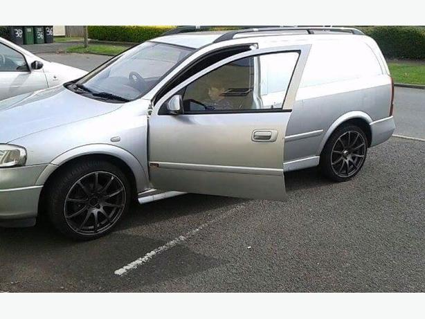 Vauxhall astra van sportive 1.7 cdti