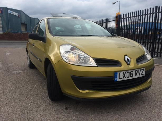 renault clio 1.5dci low milage.great conditon