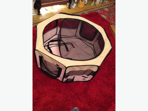 Pet Play Pan, Octagan shape.