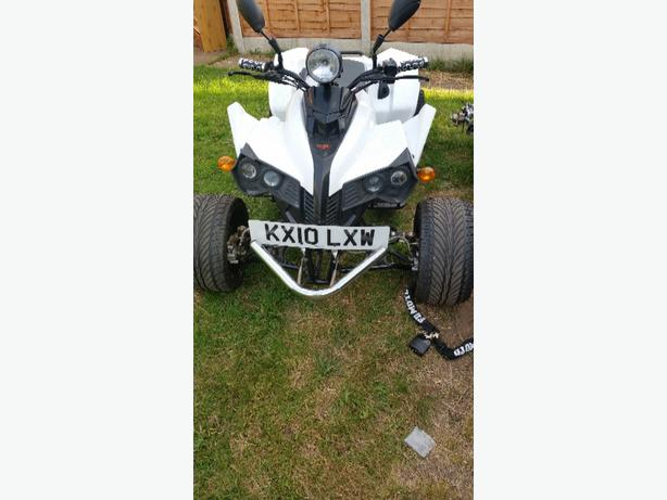 250 quad 60 plate only done 20051 miles engine still looks new