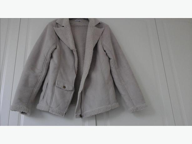 Ladies faux sheepskin jacket size 12/14