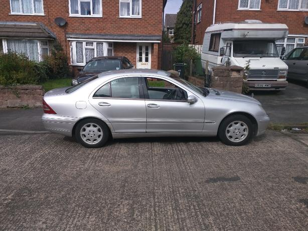 C-Class Mercedes 220 CDI Elegance automatic spares or repairs