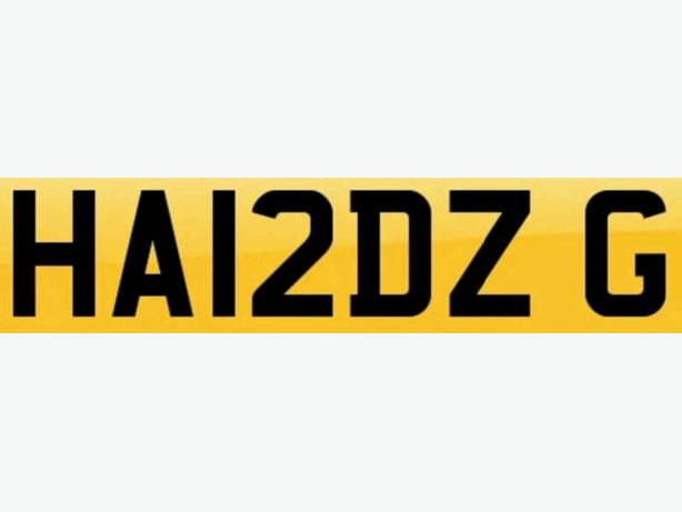 PRIVATE NUMBER PLATE BMW / AUDI / VW /
