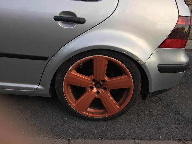 5x100 alloy wheels