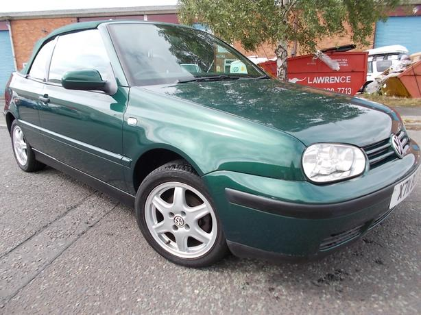 volkswagen golf 1.6 se convertible
