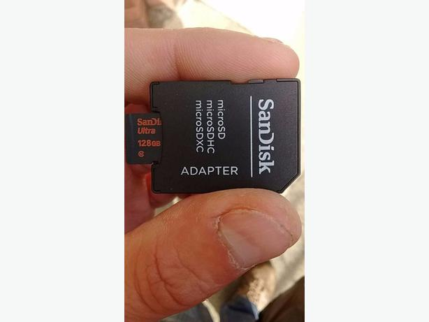128 gb Sandisk micro SD card