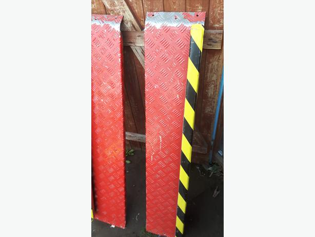 pair of scooter ramps