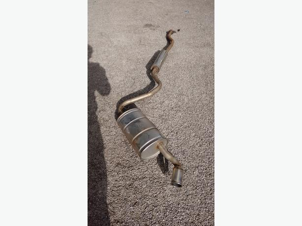 fiat seicento sporting full stainless steel exhaust