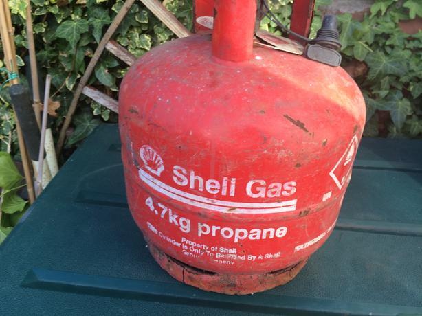 4.7 kg empty shell bottle/camping