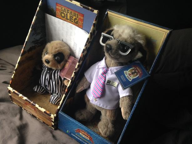 Compare The Market Meerkat  Safari Oleg Brand New! (SERGEI SOLD)