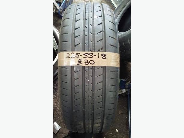 225-55-18 Toyo R37 98H 8mm Part Worn Tyre