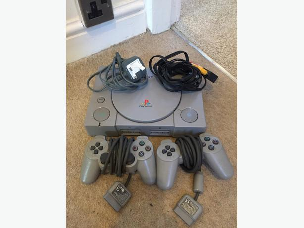playstation one & playstation twp