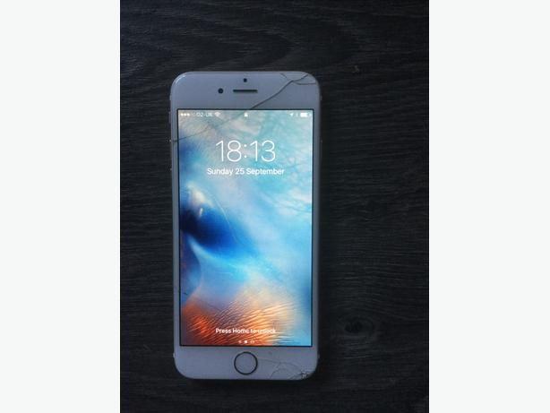 Iphone 6 gold 16gb o2 please read discription