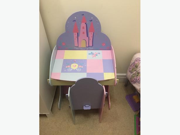 disney princess desk and chair