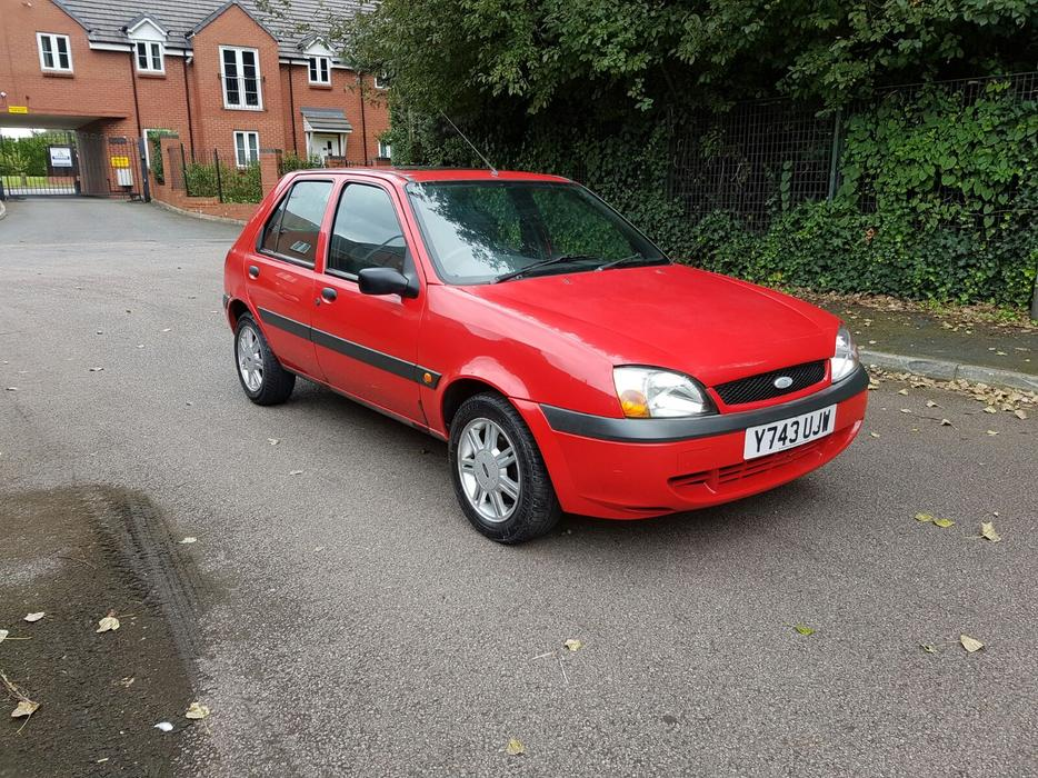 ford fiesta 2001 plate tidy car moted 1 3 petrol wolverhampton dudley. Black Bedroom Furniture Sets. Home Design Ideas