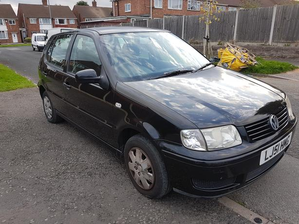 VW POLO 1.4 MATCH 5 DOOR IN BLACK