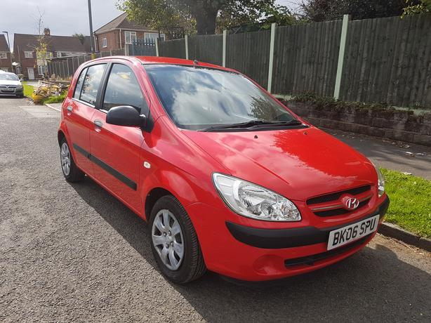 2006 Hyundai Getz Gsi 1.1 One Owner Low Miles 5 Door