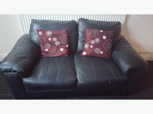 FREE: 2 seater leather sofa