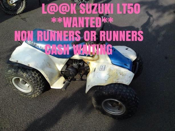 Suzuki LT50 or YAMAHA PW50s WANTED