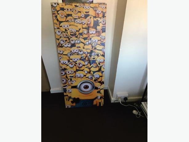 large minions canvas