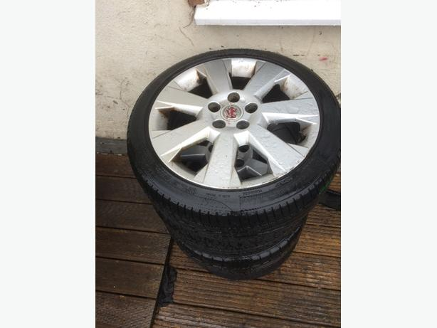 vauxhall 5 stud alloys