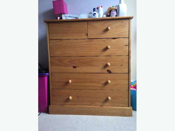 ***need gone**** chest of draws
