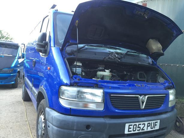 vauxhall movano dti 3300 swb spares or repairs