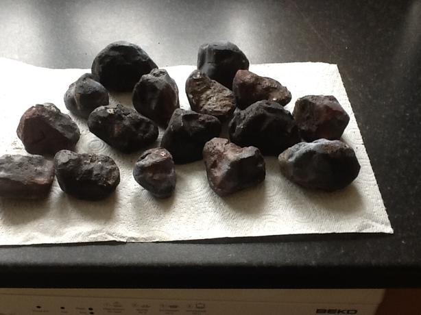 Gas fire coals