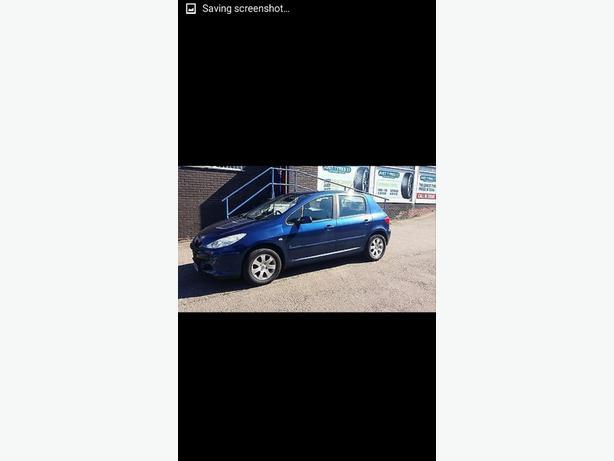 Peugeot 307 5 Door 1.6 HDi 55 Reg  2005 FSH HPi clear Alloys CD
