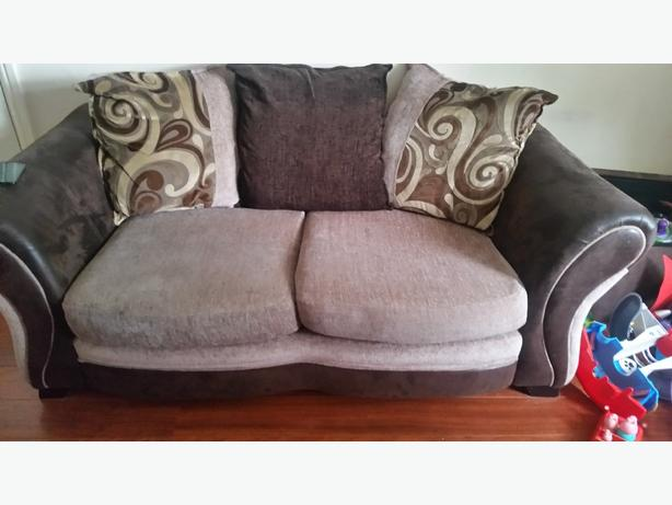 dfs sofa and double cuddle chair RRP £1200